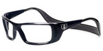 Hoven Eyewear Meal Ticket in Black Gloss :: Custom Left & Right Lens