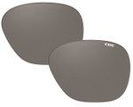 Clic Sunglass Aviator XL Replacement Lenses (Left & Right Lenses): Polarized Gray