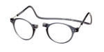 Clic Brooklyn Oval in Grey Bi-Focal