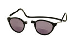 Clic Bi-Focal Reading Sunglasses in Black & Grey Tint