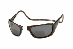 Clic Monarch Tortoise Polarized Bi-Focal Reading Sunglasses