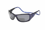 Clic Monarch Blue Polarized Bi-Focal Reading Sunglasses