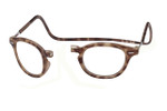 Clic Vintage Oval in Light Demi-Tortoise Progressive Glasses