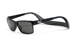 Hoven Eyewear MONIX in Black Gloss with Dark Grey & Grey Polarized