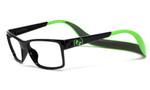 Hoven Eyewear MONIX in Black & Green :: Custom Left & Right Lens