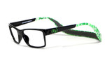 Hoven Eyewear MONIX in Black & Green Turtle :: Progressive