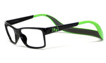 Hoven Eyewear MONIX in Black & Green :: Rx Bi-Focal