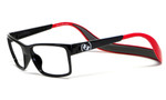Hoven Eyewear MONIX in Black & Red :: Rx Bi-Focal