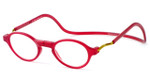 Clic Classic Red Progressive Glasses