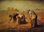 Famous Artwork Theme Cleaning Cloth 'The Gleaners' by Millet