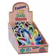 Polyresin Tie Dye Hemp Leaf Shaped Ashtrays