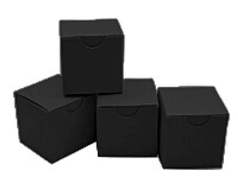 Mini Tuck Top Boxes Black Licorice  Package of 100