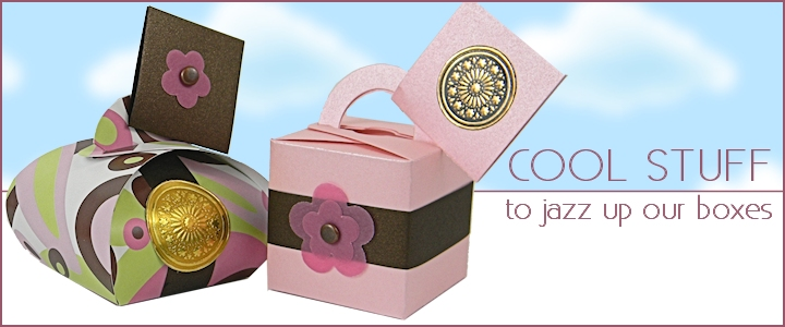Decorative Accessories For Gift And Favor Boxes