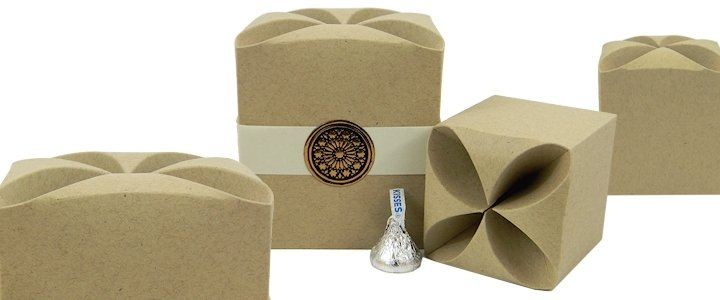 Kraft Favor Boxes