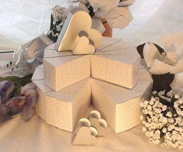 Cake Slice Box Craft Project