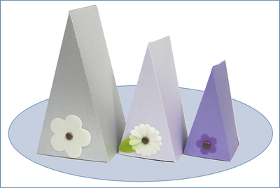 Small Cake Slice Boxes Small Wedge Shaped Gift Boxes