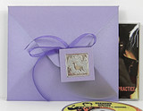 CD Envelope shown in Shimmering Amethyst. Ribbon, Tag & Foil Seal not included.