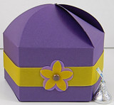 Circus Box shown in Shimmering Purple. Box Belt & Blossom not included.