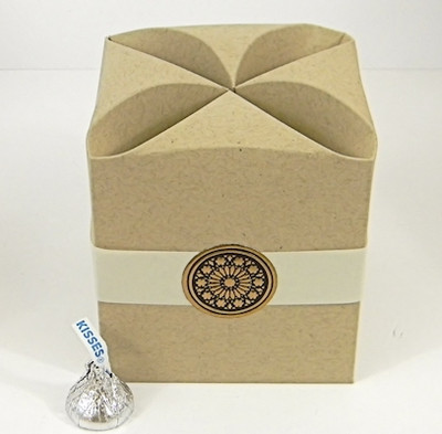 Brown Cube Favor Boxes Cube Shaped Gift Boxes In All