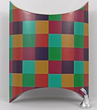 Jumbo Pillow Box shown in Checks pattern.