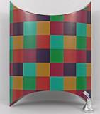 Jumbo Pillow Box shown in Checks pattern.