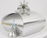Large Trinket Box shown in Silver Foil. Blossom not included.