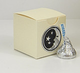 Mini Tuck Top Box shown in Shimmering Ivory. Foil Seal not included.