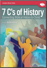 "The ""7 C's"" are a wonderful way to easily remember the biggest events in the Bible. A great chronological overview of the gospel message!  A key relevant message for all adults and teens today! Do you know the seven key events of the Bible—from Creation to the second coming of Christ? Do you long for an easy-to-understand overview of the Bible that can be summarized in less than one hour? That is what the 7C's of History DVD is all about. By taking relevant milestones throughout the Bible, apologist Bodie Hodge teaches viewers that the entire Bible points to Christ!  The 7 C's are: Creation (God created in six days and everything was perfect, then He rested for a day), Corruption (the fall from perfection due to sin), Catastrophe (Noah's Flood  is the origin of most fossil layers), Confusion (the rebellion at Babel is key to understanding the world today), Christ (the Creator became a man, our ""Kinsman Redeemer""), Cross (Christ's resurrection shows He has conquered death), and Consummation (the fulfillment of all things)."