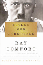 In Hitler, God, and the Bible, international evangelist and best-selling author Ray Comfort exposes Adolf Hitler's theology and abuse of religion as a means to seize political power and ultimately instigate World War II and genocide.  This fascinating study mines the depths of Hitler's beliefs and convincingly argues that without Hitler's misuse of Christianity the Third Reich would not have had its legendary rise, resulting in the deaths of more than six million Jews.  Highlighting Hitler's youth, his influences, and his path to seducing a nation, Hitler, God, and the Bible is a fresh, stinging reminder of the power of the cross and how its misuse led to the Final Solution.
