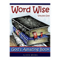"""Word Wise Volume 1: God's Amazing Book  By Alison Brown  Many children have heard the stories of Abraham, Moses, Joshua, Daniel etc. but are still unaware of the chronology of the Bible, or the important part each character played in God's big plan for mankind. Using wordsearches, jumbled sentences, number codes, and crosswords, these pages provide a journey through the Bible to help children see """"the big picture"""".  Format: Paperback Number of Pages: 32 Vendor: Banner Of Truth Publication Date: 2009"""