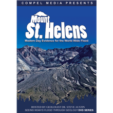 """Geologist Dr. Steven Austin has spent thousands of hours studying Mount St. Helens and this is his latest documentary showing all the incredible geologic features that formed rapidly giving us modern day evidence for the world wide flood.  This documentary, filmed at Mount St. Helens, explores how catastrophic processes at the mountain explain many geologic features we see around the world today.  In 1980 Mount St. Helens erupted and quickly became known as """"God's gift to Creationists."""" Thirty years later Dr. Austin returns to the volcanic monument to share how the catastrophic processes which reshaped the terrain support the biblical record of earth's history. He presents his research on how the events at Mount St. Helens reveal catastrophic processes in other geologic features such as the Grand Canyon and the petrified forests at Yellowstone. The formation of these features were thought to have taken millions of years, but because of the events at Mount St. Helens, they can now be explained by catastrophic processes, especially the Global Flood recorded in the Bible."""