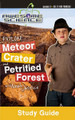 Designed to make science fun, the Awesome Science Series is an educational and entertaining opportunity for everyone. Use this study guide (DVD sold seperately) for Episode 3: Explore Meteor Crater and Petrified Forest. Included are bonus activities, key words and concepts, fill in the blank and true and false questions, as well as further discussion questions. Let Noah show you the amazing evidence for recent meteor bombardments after the Flood, discover the millions of acres of petrified forests as undeniable evidence of catastrophe, and then do some further research on your own!