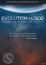 Interviewing four professors, graduate students, and everyday people on the street, Ray Comfort confronts their belief in evolution by asking for an example of observable evidence that evolution is true. Sharing the gospel as he simultaneously connects their belief in evolution with a Christian's faith in the Bible, Comfort then demonstrates how evolution is devoid of actual scientific proof.  38 minutes on DVD. Ages 12 & up.