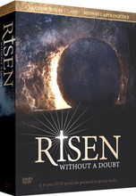 Set includes:  Six one-hour DVDs, each divided into two sessions for a total of twelve 30-minute sessions. Small Group Curriculum Discussion Guide Web Address for online Discussion Guide Answer Key Bonus Features include Tim Chaffey's movie review of Columbia Picture's Risen 6 DVDs: 6 hours
