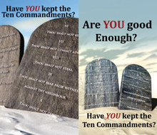 10 Commandment Tracts - Bundle of 20 To read the text of the tract in full click here: http://www.israelrestoration.org/10_commandments.html