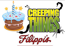 Silent Auction #8 – Creeping Things Birthday  2 Hour Private Birthday Party for 15 guests  30-Minute Creation Club Workshop with Animals  30-Minute Bounce House Session  Set of 3 Creeping Things Dvds  $20 Filippi's Pizza Gift Certificate  $20 Go Get Yogurt  $325 Value Buy it Now $225  This item will be auctioned off at the Taste of Creation fundraiser event on June 3rd or you can buy it now!