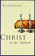 "What does the Sabbath mean to you?  Christ in the Sabbath will take you on a ""Sabbath tour"" of the Bible. You'll explore the themes of Shabbat (Hebrew for ""Sabbath"") and rest in both Old and New Testament and then discover what it has meant to Jews and Christians for centuries. Rabbinical comments and a variety of traditions provide clarity and credibility to the study of Sabbath.  This volume does not resolve all the differences among Christians concerning the place of the Sabbath today; instead, the journey undertaken in this book is designed to help you form your own conclusions—or inspire you to continue exploring the meaning and significance behind the Sabbath."