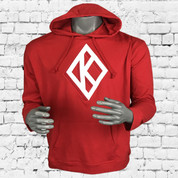 DIAMOND FLEECE  HOODIE