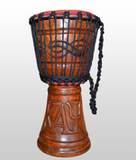 KAPPA ALPHA PSI HAND CARVED DRUM 1