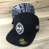Midnight Tribal Guam Motif Snap Back Hat