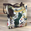 Light-Weight Tropical Guam Polyester Tote Bag - 15.5x12.5x5