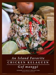 Chicken Kelaguen Poster 18x24