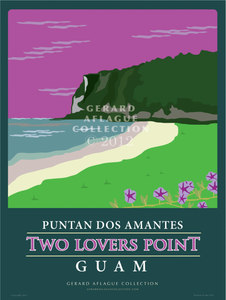Two Lover's Point  - 18x24 Illustration