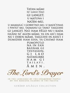 The Lord's Prayer in Chamorro in White Fine-Art Poster Illustration