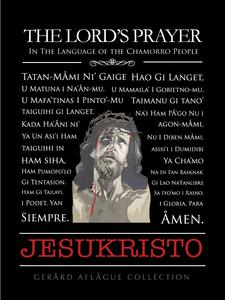 The Lord's Prayer in Chamorro w/Jesukristo Fine-Art Poster Illustration