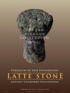 Latte Stone - 18x24 Illustration