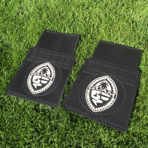 2-Set Premium All-Weather Tribal Guam Seal Car and Truck Front Mats
