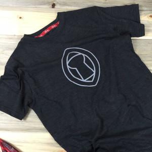 Guam Seal Latte Motif Premium Tribe Brand Bi-Blend T-Shirt