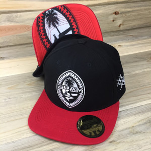 Blood Tribal Guam Snap Back Hat