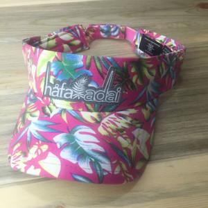 Hafa Adai Pink Floral Guam & CNMI Visor Hat
